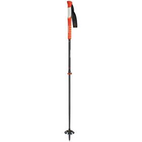 Komperdell Carbon C2 Ultralight - Bastones - rojo/negro